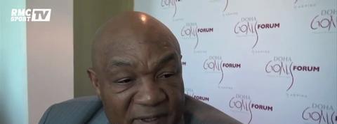 Boxe / Foreman : C'est grâce à Ali que je suis entré dans l'histoire
