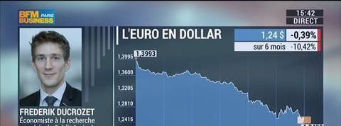 Conférence de presse de Mario Draghi : les réactions de Benaouda Abdeddaïm et Frederik Ducrozet