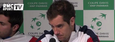 Coupe Davis Gasquet : Je suis déçu