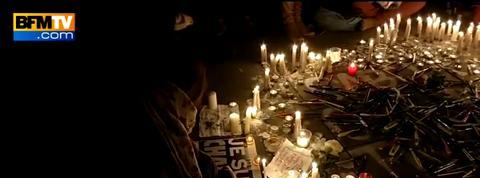 A Paris, plus de 35.000 personnes ont rendu hommage aux victimes de Charlie Hebdo