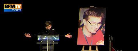 Luz imagine un dessin de Charb avec Netanyahu et Abbas à la marche