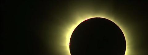L'éclipse totale vue de Norvège