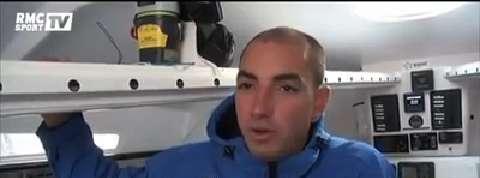 Damien Seguin, skipper handisport sde la Route du Rhum