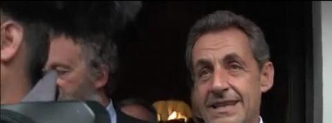 La rentrée de Nicolas Sarkozy en Haute-Savoie